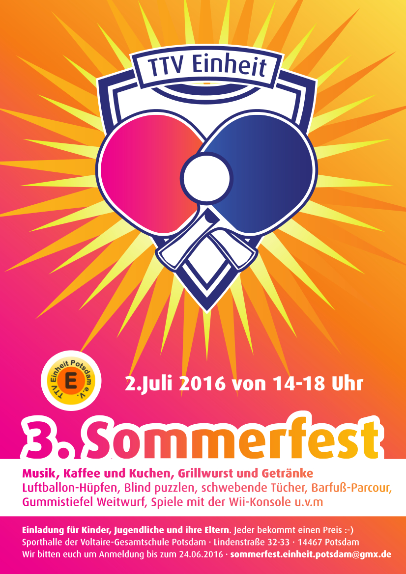 TTV Einheit3Sommerfest2016_Flyer